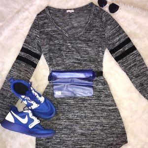 NWOT WET SEAL Grey Longsleeve Dress